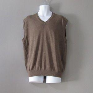 NEW Jos. A. Bank Pima Cotton Sweater Vest XL
